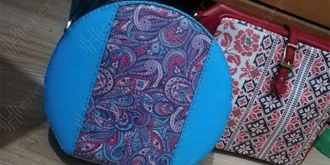 کیف چرم زنانه دست دوز
